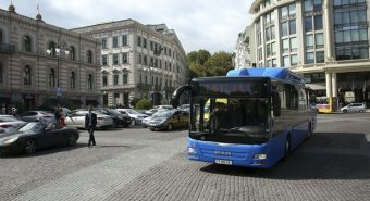 MAN – Frota de 143 autocarros CNG para Tbilisi
