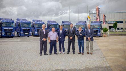 MAN – Dez camiões adquiridos pela João Pires
