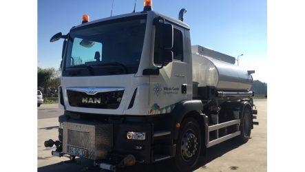 MAN – Cinco camiões reforçam frota da SUMA