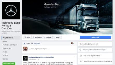 Mercedes-Benz Portugal – Pesados no Facebook