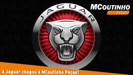 MCoutinho Peças – Oferta reforçada com marca Jaguar