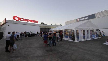 Civiparts / Onedrive. Novas instalações conjuntas no Algarve