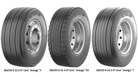 Michelin. Lançados os X Line Energy