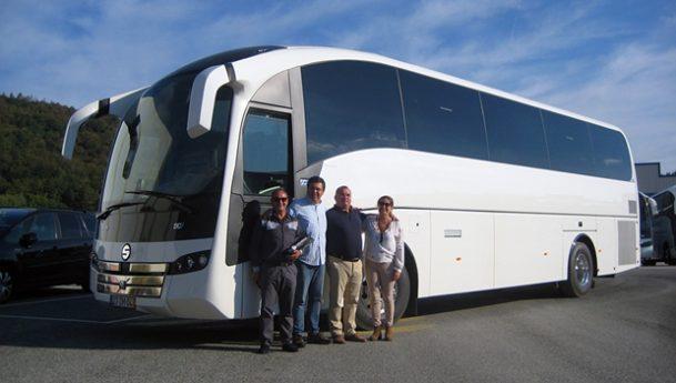Sunsundegui – Novo autocarro entregue a Serpa