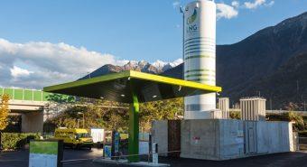 Iveco – Inaugurada estação GNC / GNL em Itália