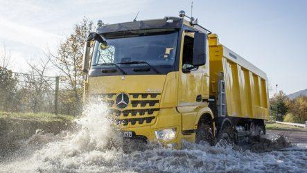 Mercedes-Benz – Mais versões na gama de construção Arocs