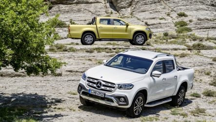 Mercedes-Benz – Pick-up chega em novembro
