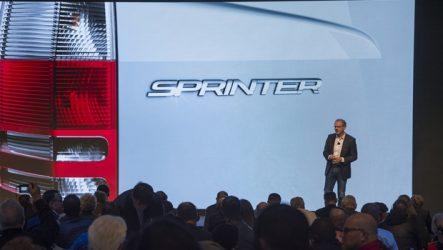 Mercedes-Benz – Novo Sprinter apresentado em fevereiro