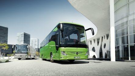 Mercedes-Benz – Novo autocarro de turismo de piso alto