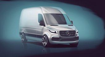 Mercedes-Benz – Nova geração do Sprinter em 2018