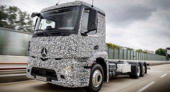 Mercedes-Benz – Protótipo Urban eTruck antecipa primeiro camião totalmente elétrico
