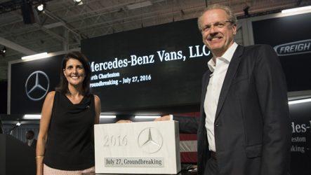 Mercedes-Benz – Nova fábrica nos Estados Unidos para Sprinter