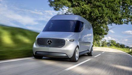 Mercedes-Benz – Veículo comercial do futuro será conectado e elétrico