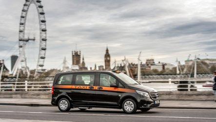 Mercedes-Benz – Novo Vito Táxi de Londres