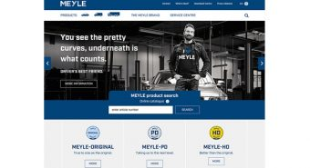 Meyle – Website remodelado
