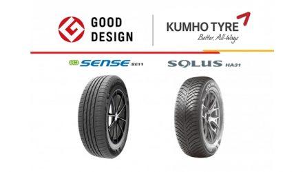 Kumho – Dois prémios Good Design