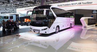 Neoplan – Estreia mundial do Tourliner em Hannover