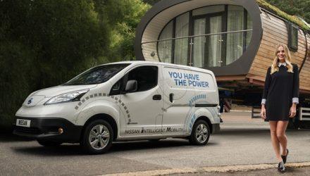 Nissan – Comercial e-NV200 com autonomia de 280 km