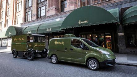 Nissan – Harrods confia entregas ao e-NV200