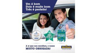 Norauto vence prémios Cinco Estrelas e Escolha do Consumidor 2018