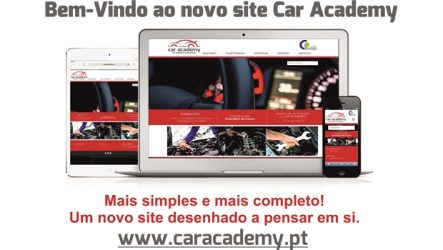 Car Academy – Novo site