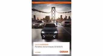 Osram lança catálogo de iluminação automóvel em português