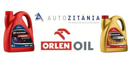 Autozitânia – Nova embalagem de óleo Orlen