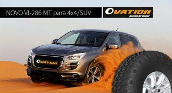 Tiresur – Oferta reforçada com pneu Ovation VI-286MT