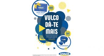 """Vulco – Raspadinha """"Vulco Dá-te Mais"""" ativa em abril"""