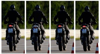 BMW Motorrad. Apresentadas as luzes dinâmicas de travagem.