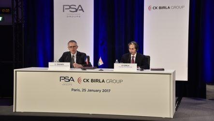 PSA e CK Birla – Joint-venture para componentes