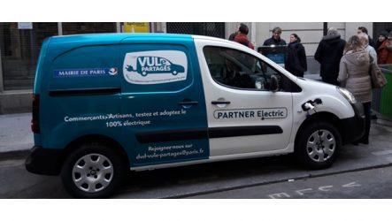 PSA – Car-sharing de VCL elétricos em Paris