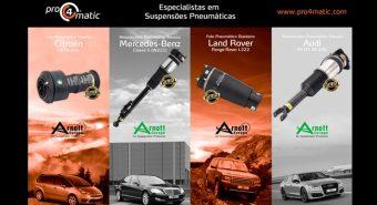 Pro4matic – Novidades Arnott apresentadas no ExpoMecânica