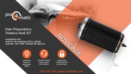 Pro4matic – Novo fole pneumático para Audi A6 e A7