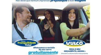 Vulco. Promoção oferece revisão