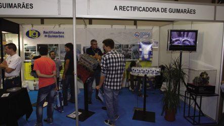 Rectificadora Guimarães. Aposta na competição automóvel na Expomecânica