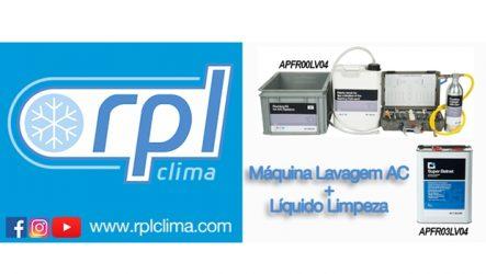 RPL Clima – Equipamento de lavagem de ar condicionado