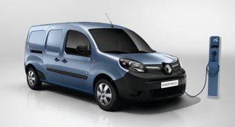 Renault – Kangoo ZE terá mais 50% de autonomia