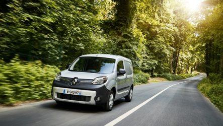 Renault – Kangoo ZE oferece maior autonomia