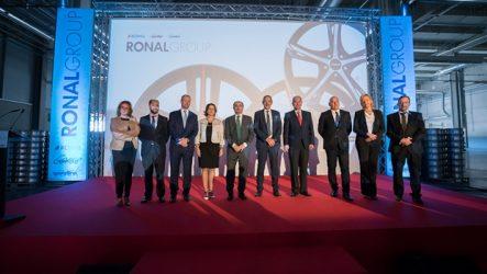 Ronal Group – Inaugurada fábrica de jantes em Espanha