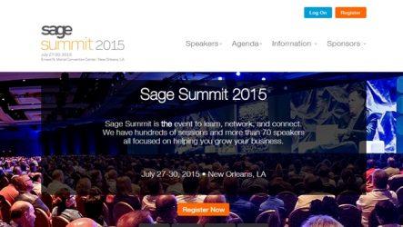 Sage. Apresenta o Sage Summit