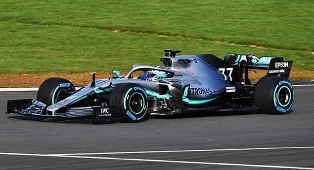 Nova cor criada pela Spies-Hecker para a Mercedes-AMG Petronas