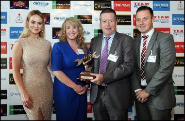 Spies Hecker premiada no Irish Auto Trade