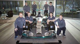 Spies Hecker. Na F1 com a Mercedes AMG Petronas