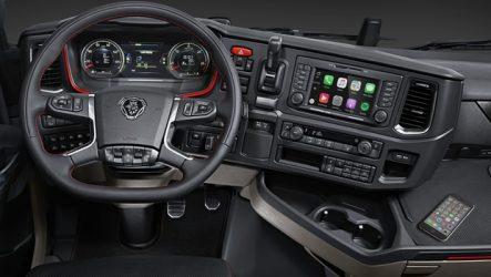 Scania – Apple CarPlay chega aos camiões