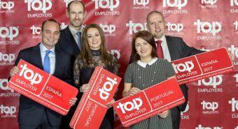 Scania – Certificação Top Employer 2017