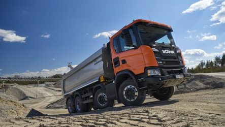 Scania – Revelada nova gama de camiões de construção