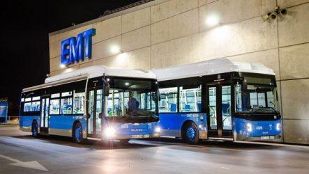 Scania – Frota de 160 autocarros a gás para Madrid