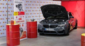 Shell demonstrou vantagens da gama de lubrificantes Helix