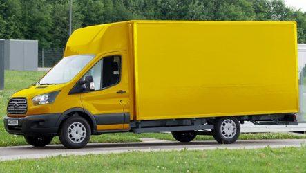 Ford – Parceria com Deutsche Post para desenvolver Transit elétrica